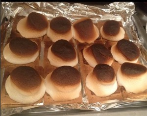 smores after