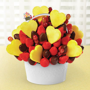valentines day bouquet edible 3