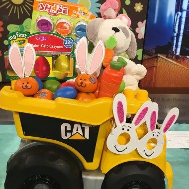 Toddler Truck Easter Basket