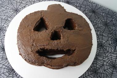 Jack O Lantern Cake 2