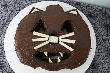 Creepy Cat Cake - Halloween 2