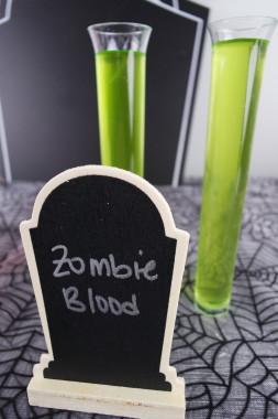 Zombie Blood Drink Halloween