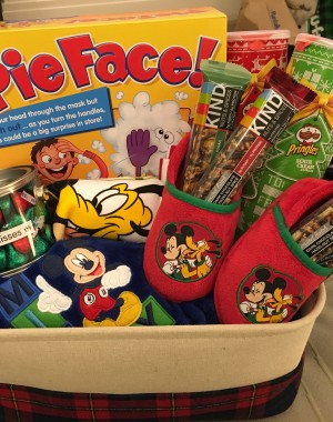 Family Game Night Gift Basket