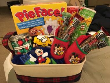 Family Game Night Gift Basket